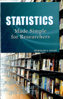 Statistics Made Simple for Researchers  2008 Ed