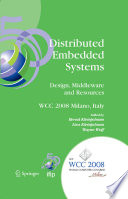 Distributed Embedded Systems  Design  Middleware and Resources Book
