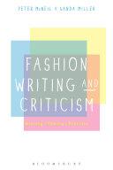 Fashion Writing and Criticism