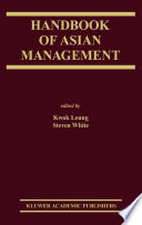 Handbook of Asian Management Book