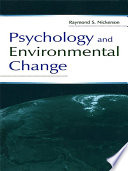 Psychology and Environmental Change Book