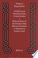 Oral poetry and narratives from Central Arabia. 3. Bedouin poets of the Dawāsir tribe