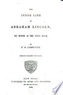 The Inner Life of Abraham Lincoln Book