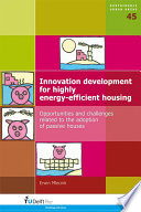 Innovation Development for Highly Energy Efficient Housing Book
