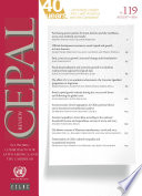 Cepal Review No 119 August 2016