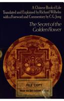 the secret of the golden flower wilhelm richard