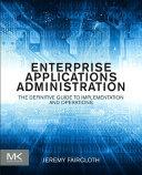 Enterprise Applications Administration Pdf/ePub eBook
