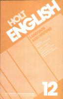 Holt English  Language and Writing