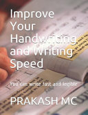 Improve Your Handwriting and Writing Speed
