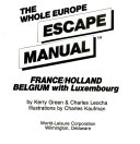 The Whole Europe Escape Manual