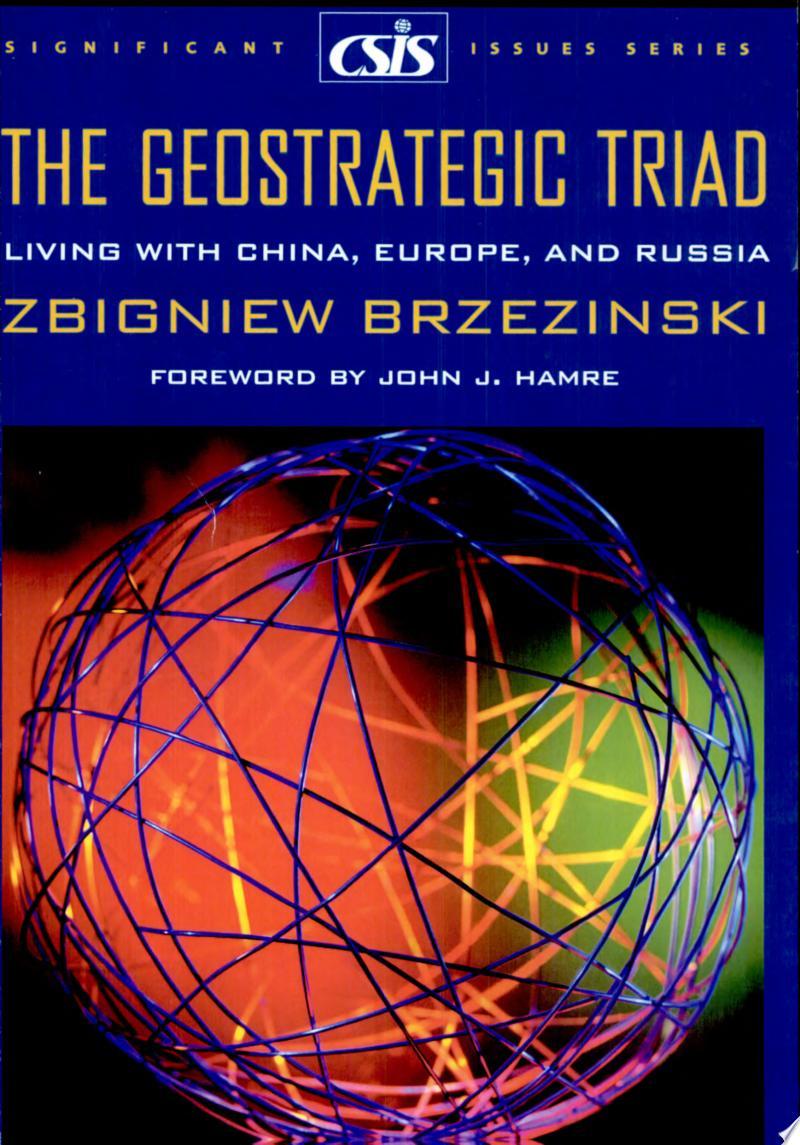 The Geostrategic Triad banner backdrop