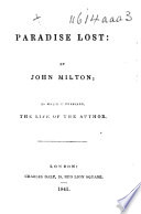 Milton s Poetical Works  With his life Book
