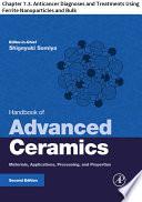 Handbook of Advanced Ceramics
