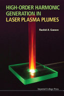 High-order Harmonic Generation in Laser Plasma Plumes