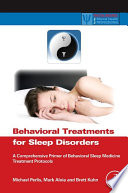 Behavioral Treatments for Sleep Disorders Book
