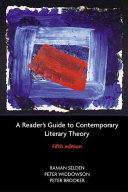 A Reader S Guide To Contemporary Literary Theory Book