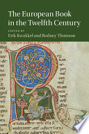 The European Book in the Twelfth Century