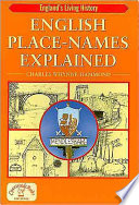 English Place-names Explained