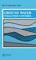 Ground Water Pollution Control Pdf/ePub eBook