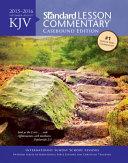 KJV Standard Lesson Commentary(r) Casebound Edition 2015-2016