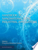 Handbook of Nanomaterials for Industrial Applications