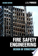 Fire Safety Engineering Design of Structures  Second Edition Book