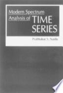 Modern Spectrum Analysis of Time Series