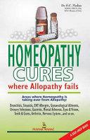 Homeopathy Cures Where Alopathy Fails