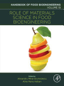 Role of Materials Science in Food Bioengineering Pdf/ePub eBook