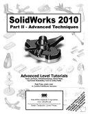 SolidWorks 2010 Part II - Advanced Techniques Pdf/ePub eBook