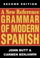 A New Reference Grammar of Modern Spanish Pdf/ePub eBook