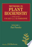 Methods in Plant Biochemistry