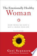 The Emotionally Healthy Woman Book