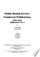 Public Health Service publication. no. 1112 suppl., 1965