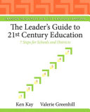 The Leader's Guide to 21st Century Education Pdf/ePub eBook