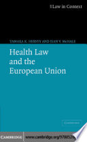 Health Law and the European Union