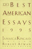 The Best American Essays  1995