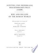 Aufstieg und Niedergang der römischen Welt