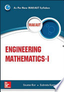 Engineering Mathematics I Makaut  Book PDF