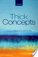 Thick Concepts Book
