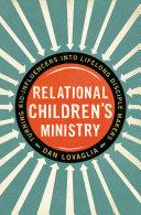 Relational Children s Ministry