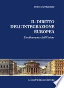 Il diritto dell'integrazione europea