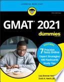 GMAT For Dummies 2021