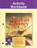 The American Journey Activity Workbook Book PDF