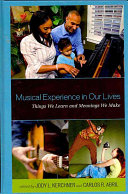 Musical Experience in Our Lives Book