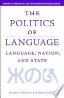 Language Nation And State