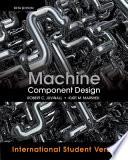 Machine Component Design