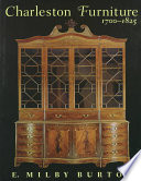 Charleston Furniture 1700 1825