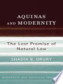 Aquinas And Modernity