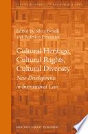 Cultural Heritage Cultural Rights Cultural Diversity